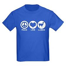 Peace Love Llamas T