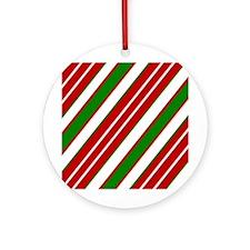 Candycane Ornament (Round)