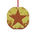 Rusty Star Keepsake (Round)