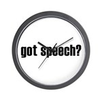 got speech Wall Clock