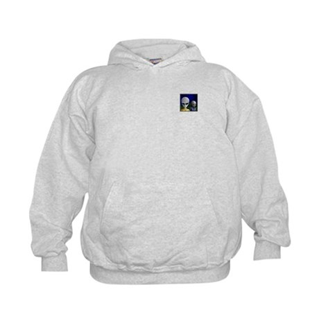Alien Visit & UFO ~ Kids Sweatshirt (2 Sides)