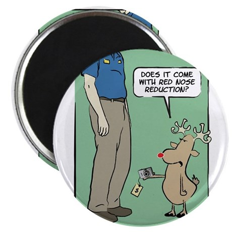 WTD Holiday - Red Nose Reduct Magnet