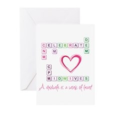 Celebrate Midwives Greeting Cards (Pk of 10)