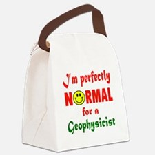 I'm perfectly normal for a Geophy Canvas Lunch Bag