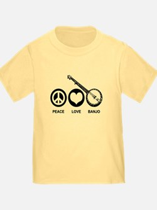 Peace Love Banjo T