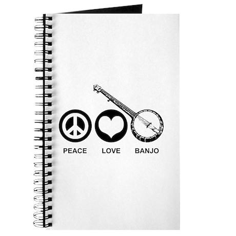 Peace Love Banjo Journal