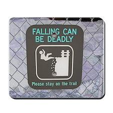 Falling Mousepad