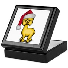 Christmas Alpaca Keepsake Box