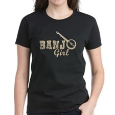 Banjo Girl Tee