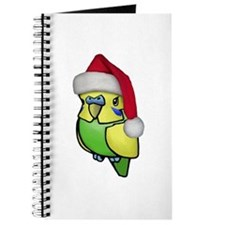 Christmas Budgie Journal