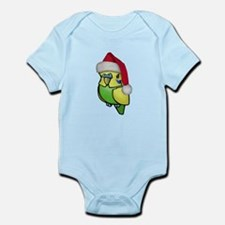 Christmas Budgie Infant Bodysuit