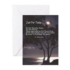 """Usui """"Just For Today"""" Greeting Cards (Pk of 10"""