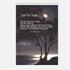 "Usui ""Just For Today"" Postcards (Package of 8)"