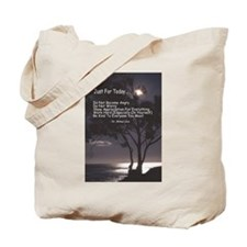 """Usui """"Just For Today"""" Tote Bag"""