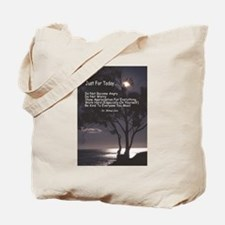 "Usui ""Just For Today"" Tote Bag"