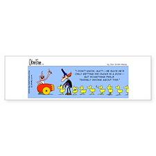 Ducks in a Row Bumper Bumper Sticker