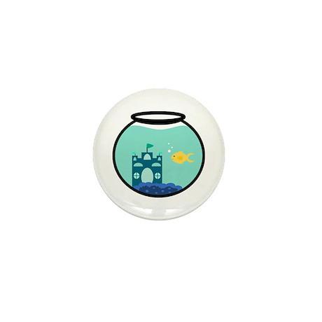 Cute Goldfish Mini Button