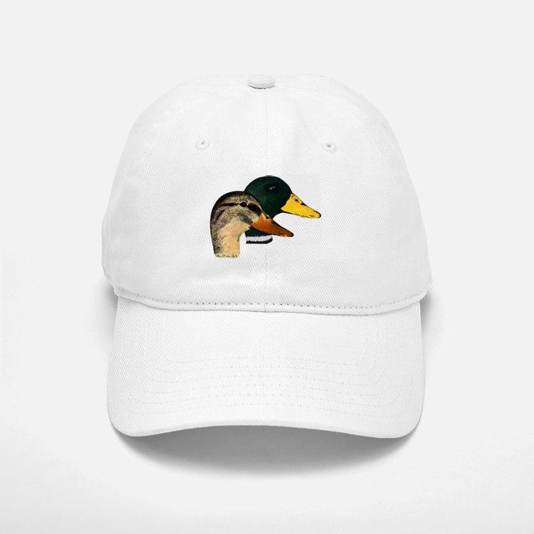 Mallard Ducks - Pair Baseball Baseball Cap