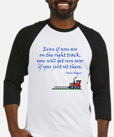 Don't Sit There Baseball Jersey