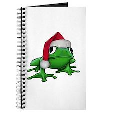 Christmas Frog Journal