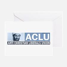 ACLU (Osama) Greeting Card