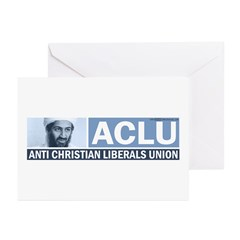 ACLU (Osama) Greeting Cards (Pk of 10)