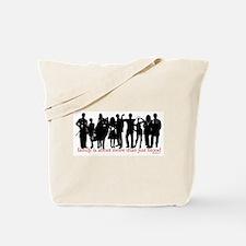 Cullen Family Silhouette Tote Bag