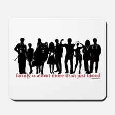 Cullen Family Silhouette Mousepad