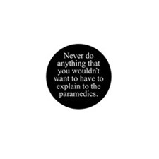 Paramedics Mini Button