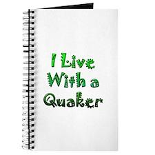 I Live With A Quaker Journal