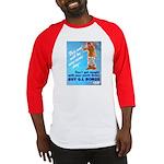 Comic Pants Down Humor Baseball Jersey