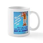 Comic Pants Down Humor Mug