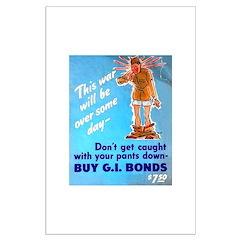 Comic Pants Down Humor Posters