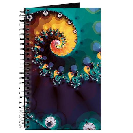 Swirly Fractal Journal