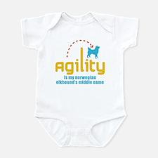 Norwegian Elkhound Infant Bodysuit