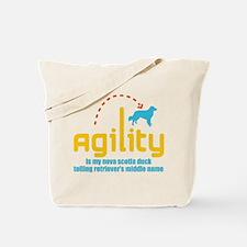 Nova Scotia Duck Tolling Retr Tote Bag
