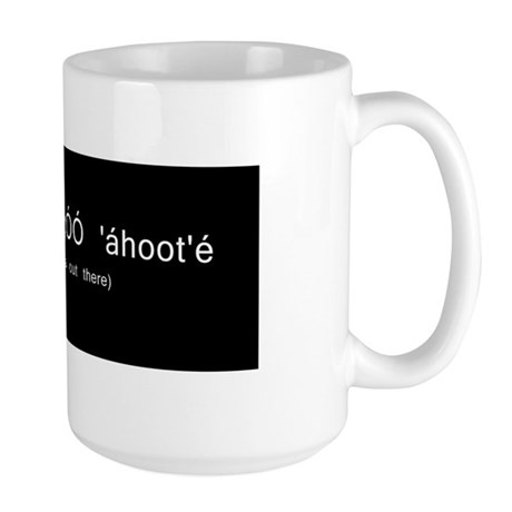 The truth is out there in Navajo mug Navajoe