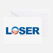LOSER (Obama) Greeting Card