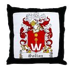 Soltan Family Crest Throw Pillow