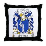 Sowka Family Crest Throw Pillow