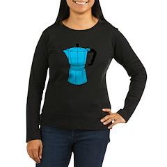 Espresso Coffee Pot Women's Long Sleeve T-Shirt