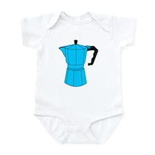 Moka Espresso Coffee Pot Infant Bodysuit