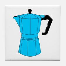 Moka Espresso Coffee Pot Tile Coaster