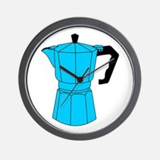 Moka Espresso Coffee Pot Wall Clock