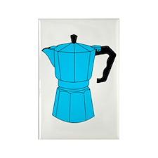 Moka Espresso Coffee Pot Rectangle Magnet