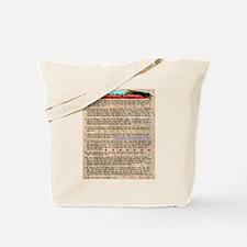 Commandments of Coyote Tote Bag