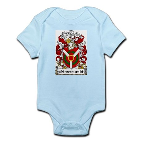 Staszewski Family Crest Infant Creeper