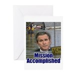 Mission Accomplished: Bush an Greeting Cards (Pack