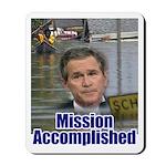Mission Accomplished: Bush an Mousepad