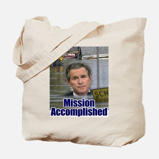 Mission Accomplished: Bush an Tote Bag